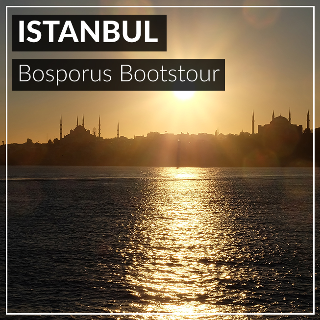 Istanbul, Bootstour, Aussicht